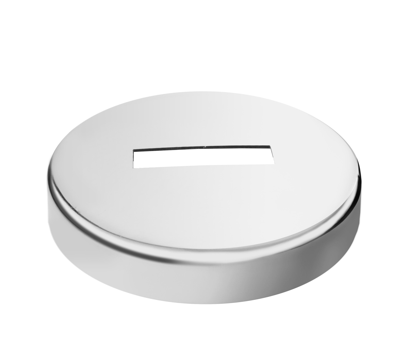 Embellecedor cilíndrico para tubo retangular